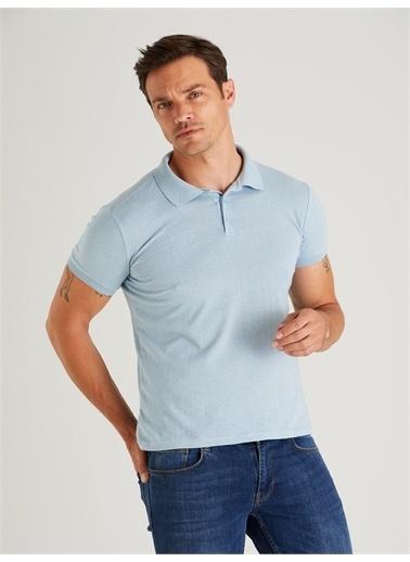 Dufy Tişört Mavi